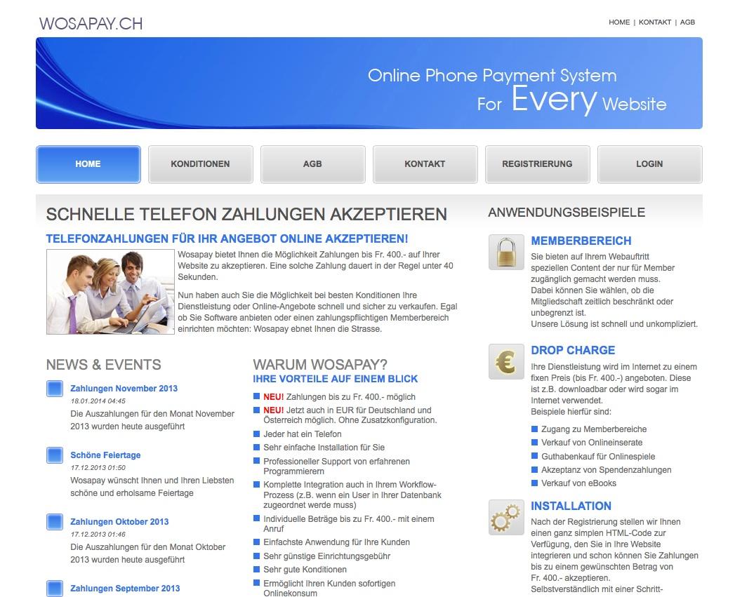 Online Zahlungen akzeptieren